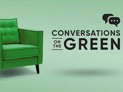 conversation on the green