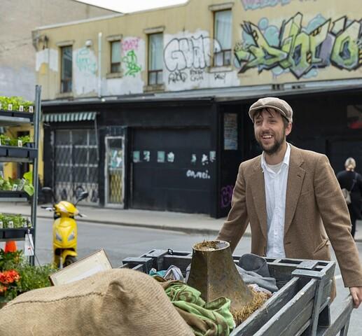 Peddler in Kensington Market
